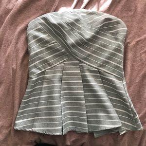 Strapless Essue blouse